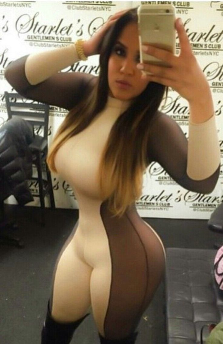 Naked curvy and thick