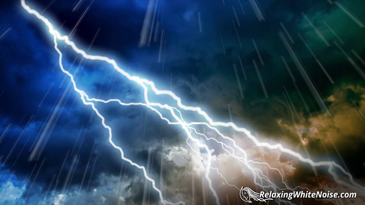 Rain and thunderstorm sounds
