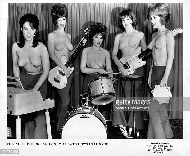 All female bands topless