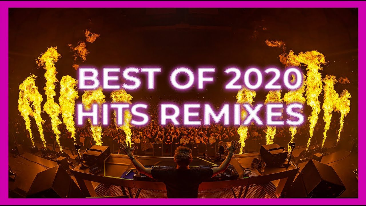 Popular songs remixed into dance tracks
