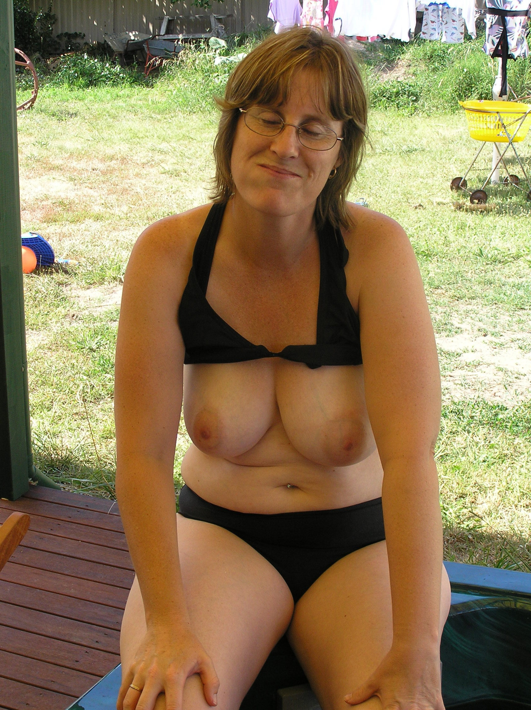 Mother mature tits
