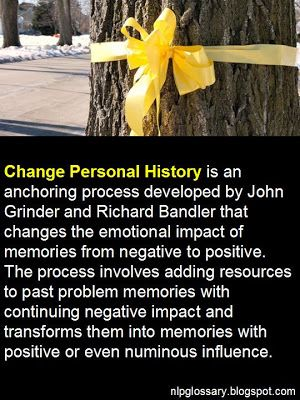 Nlp change personal history