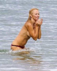 Pam anderson nude beach france