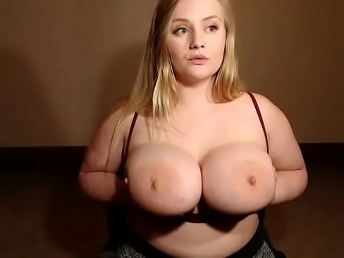 Thick blonde tits