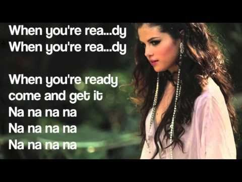 When your ready come and get it lyrics